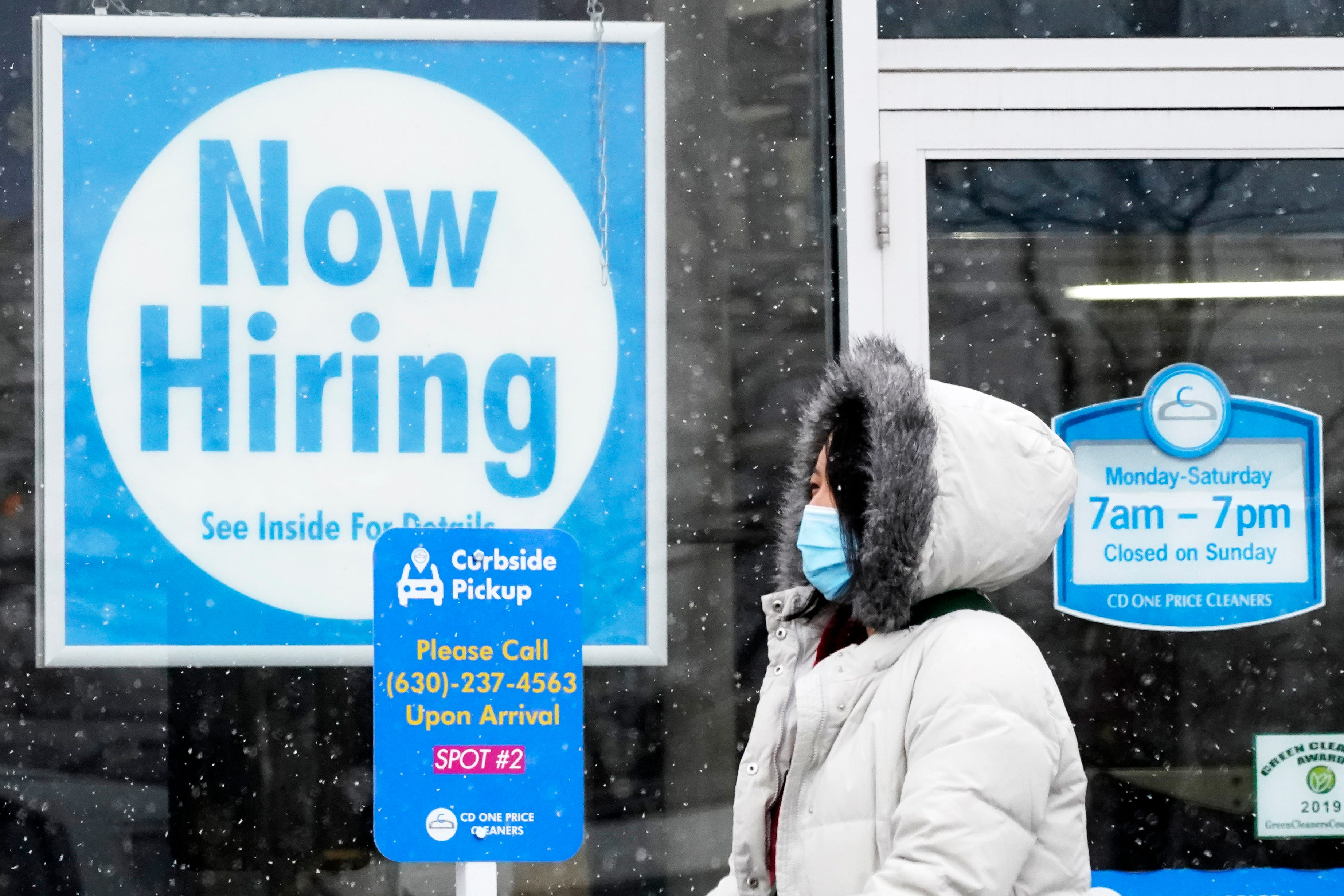 The economy added 379K jobs in February, unemployment fell to 6.2% as COVID cases dropped