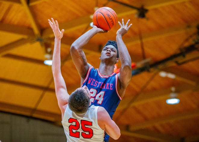 KJ Adams and the Westlake boys basketball team will open the playoffs against either Stony Point or Cedar Ridge when the postseason begins. The UIL has extended the deadlines to complete the first- and second-round playoffs for girls basketball and will also extend the deadlines for district certification and early playoff rounds for boys basketball.
