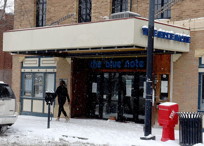 The Blue Note, pictured Wednesday, will open for a handful of shows beginning Feb. 26.