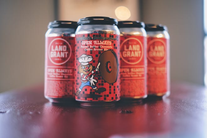 The latest brew from Land Grant Brewing Company boasts a flavor modeled after one of Buckeye Donuts' most popular menu items.