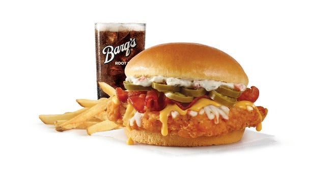 Wendy's new Jalapeno Popper Chicken Sandwich
