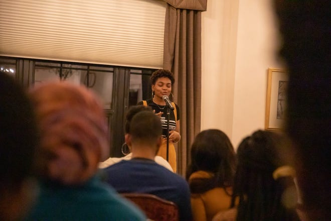The African American Heritage Festival poetry showcase in 2020 was a live event, but the pandemic has forced the festival to go online-only this year.