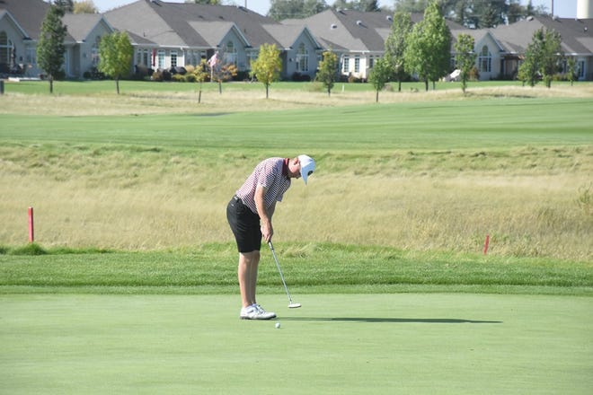 Connor Humble was selected as the NSIC Player to Watch for the Minnesota Crookston men's golf team.
