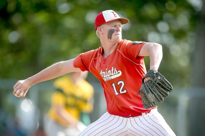 Sawyer Satrom, a pitcher and third baseman from Portland, N.D., committed to Minnesota Crookston this month.