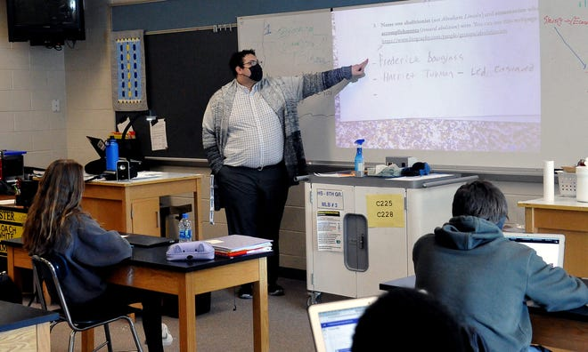 Oliver Warren, who teaches eighth-grade social studies at Wooster High School, is also vice-president of the Wooster-Orrville NAACP.
