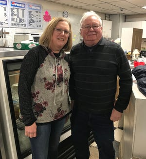 Tim and Rhonda Carey are seen at the deli that made them famous in the Cohocton area for 47 years.