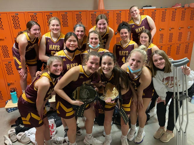 The Hays High girls basketball team took a 38-22 win at Abilene on Tuesday.
