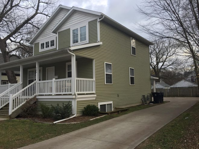 A house on 13th Street in Holland. Lawmakers in the Michigan Senate are backing legislation to increase affordable housing projects in the state.