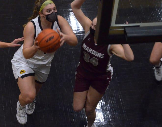 The Hamilton girls basketball team hosted Holland Christian on Tuesday, Feb. 16.
