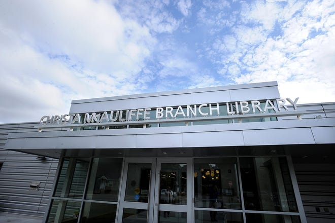 The Christa McAuliffe Branch Library on Water Street