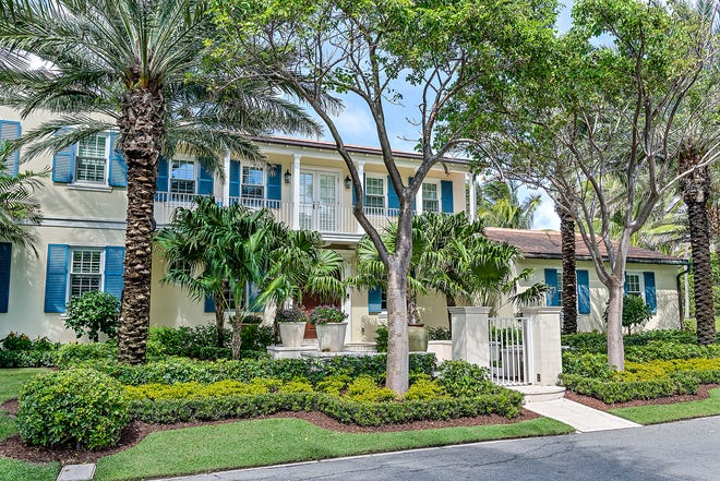 A five-bedroom house completed in 2019 at 201 Ocean Terrace on the North End of Palm Beach has been sold for a recorded $7.95 million by an entity linked to the Asplundh family of the tree-trimming empire.