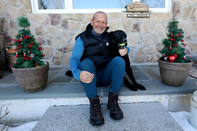 Retired Army Gen. Don Bolduc's service dog, Victor, was recognized as the Service Dog of the Year from the nation's leading service training dog organization.