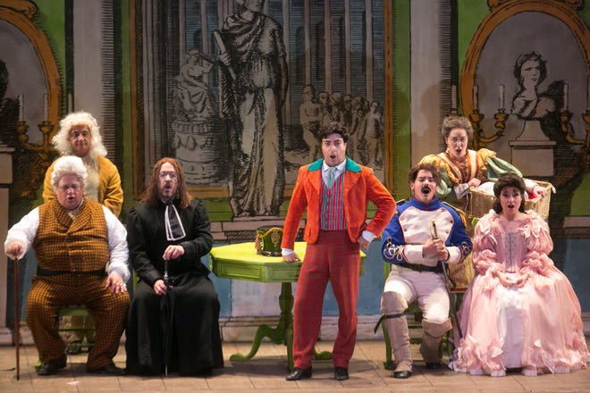 This season's Palm Beach Opera season will be performed at the South Florida Fairgrounds.
