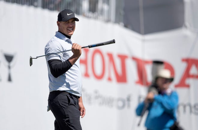 Brooks Koepka, shown on the 9th hole during the second round of last year's Honda Classic, failed to make the cut.