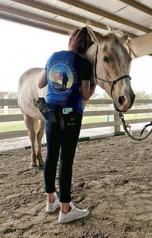 The Horses for Heroes program is an experiential learning program that uses both mounted and unmounted equine-assisted activities and therapies for physical and emotional healing.