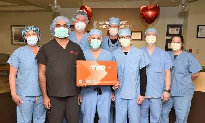 Manatee Memorial Hospital's Heart and Vascular Team performed the first TransCarotid Artery Revascularization procedure  in Manatee County. TCAR, a minimally invasive procedure for those with carotid artery disease, helps to prevent future strokes.
