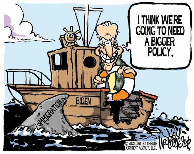 Weatherford cartoon: Bigger policy