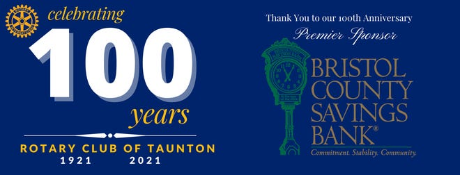 Taunton Rotary Club celebrating 100 years.