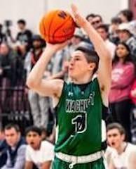 Wachusett Regional High School's Connor Pillsbury on the court.