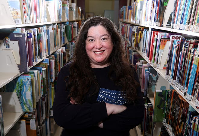 Meredith Wickham, pictured Feb. 17 at the Westland Area Library, is the new director of Southwest Public Libraries, succeeding Mark Shaw, who retired.