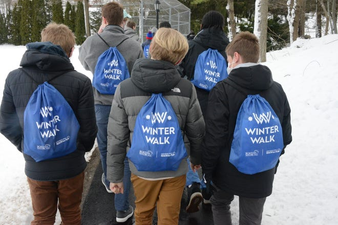 On Feb. 3, students and faculty from The Roxbury Latin School participated in Boston's Winter Walk, an event that aims to raise both support for and awareness on homelessness throughout Greater Boston.
