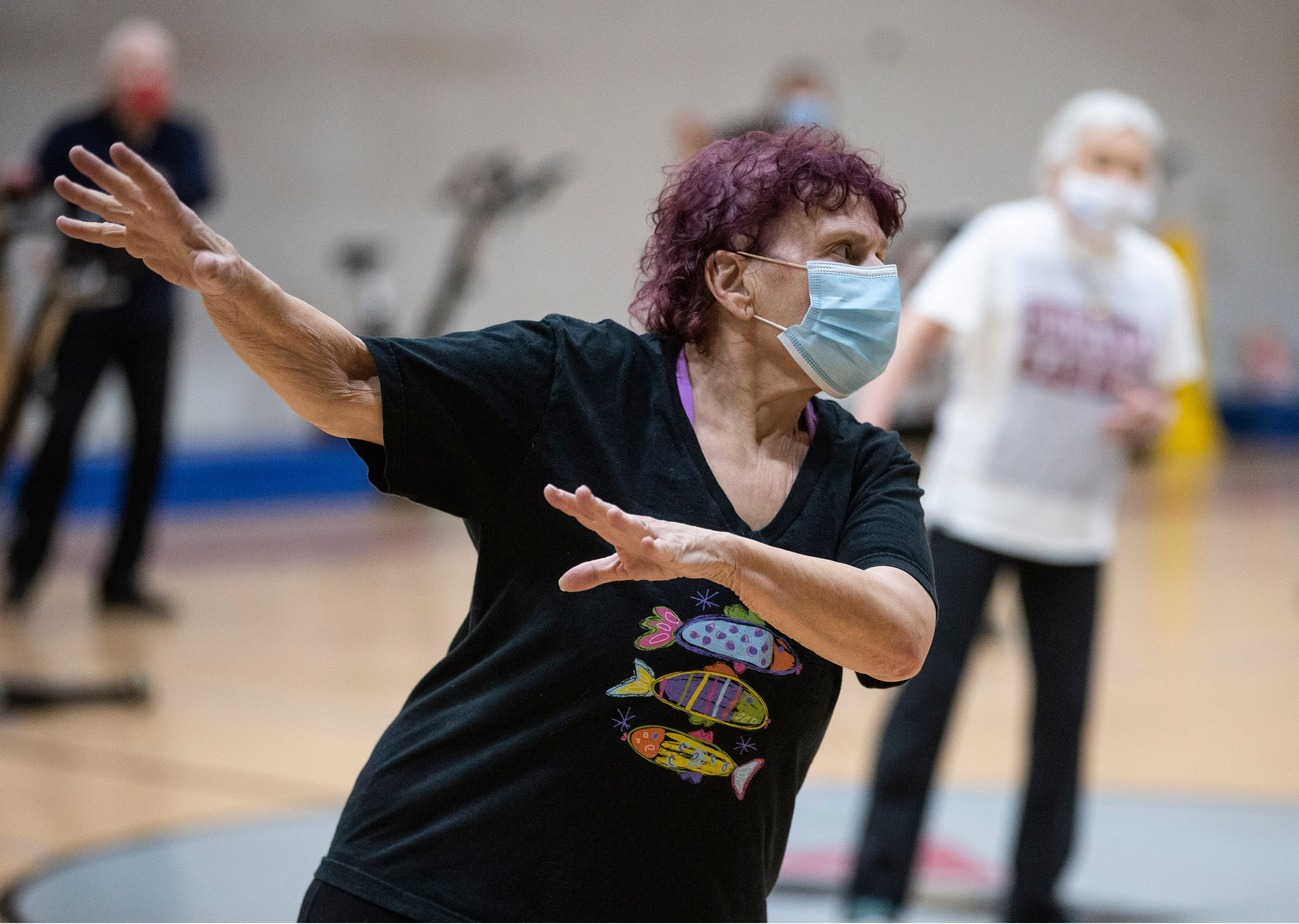 'I'm happy. I'm moving. I'm dancing': Seniors get fit at Red Bank YMCA