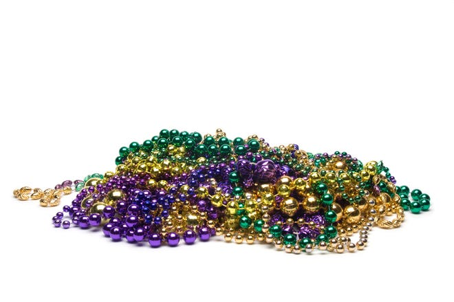 Hey, Florida, Mardi Gras is over. But down the beads until next year.