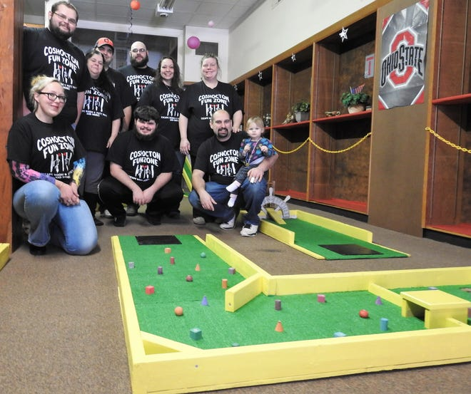 The Aronhalt and Newell families are spearheading creation of the new Coshocton Fun Zone at 504 Main St. It will feature putt-putt golf and concessions to start with an escape room to be added.