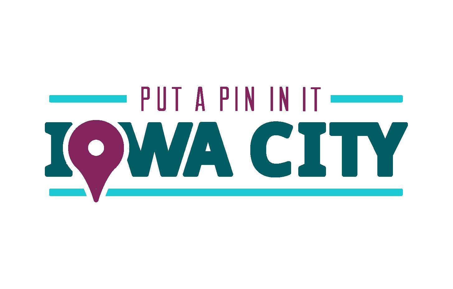 Put a Pin In It - Iowa City Logo