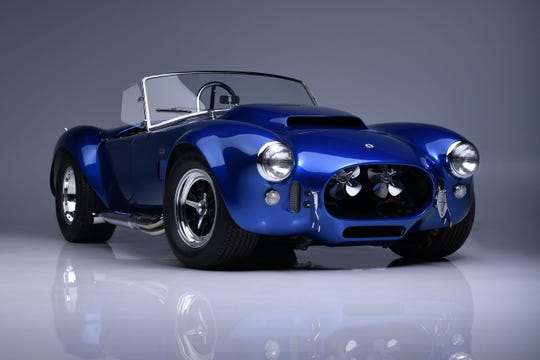 The last surviving 1966 Shelby Cobra Super Snake, pictured here, is being auctioned off by Barrett-Jackson.  It last sold for $ 5.1 million in 2015.