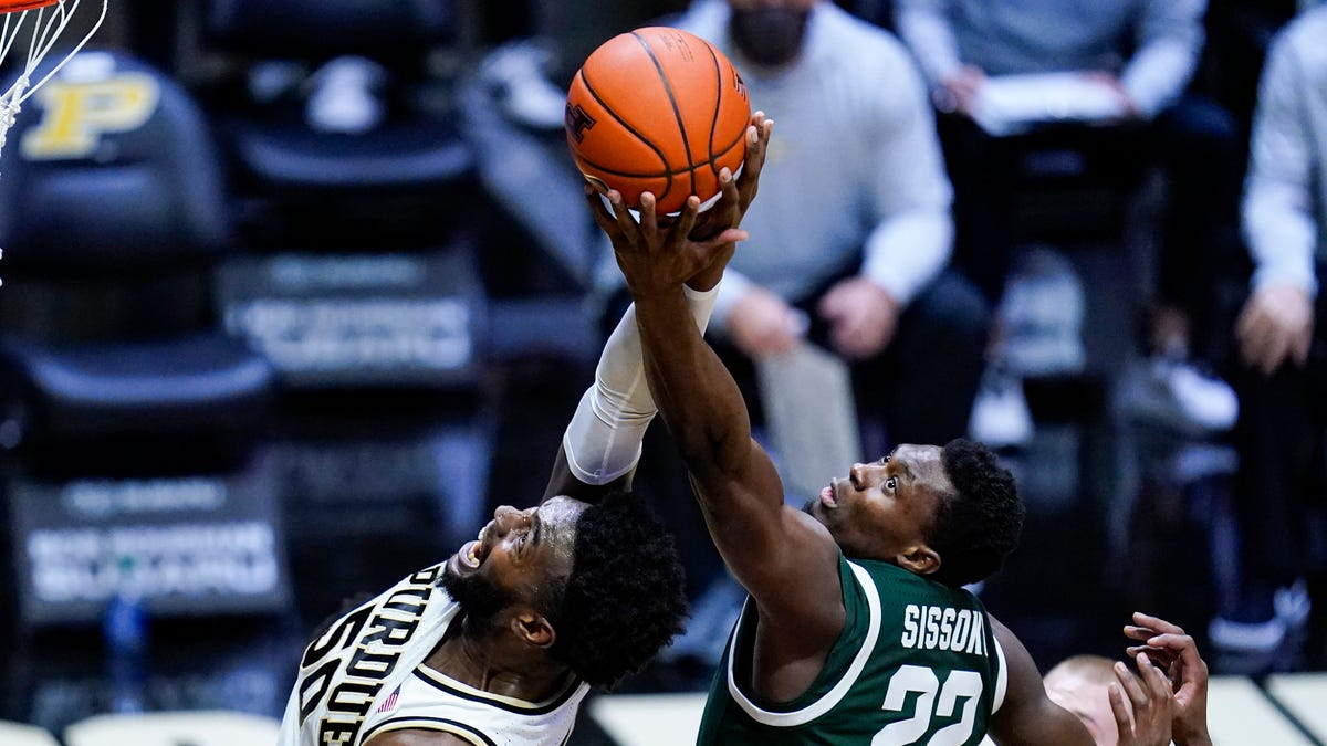 Trevion Williams, turnovers trip up Michigan State in 75-65 defeat to Purdue 1