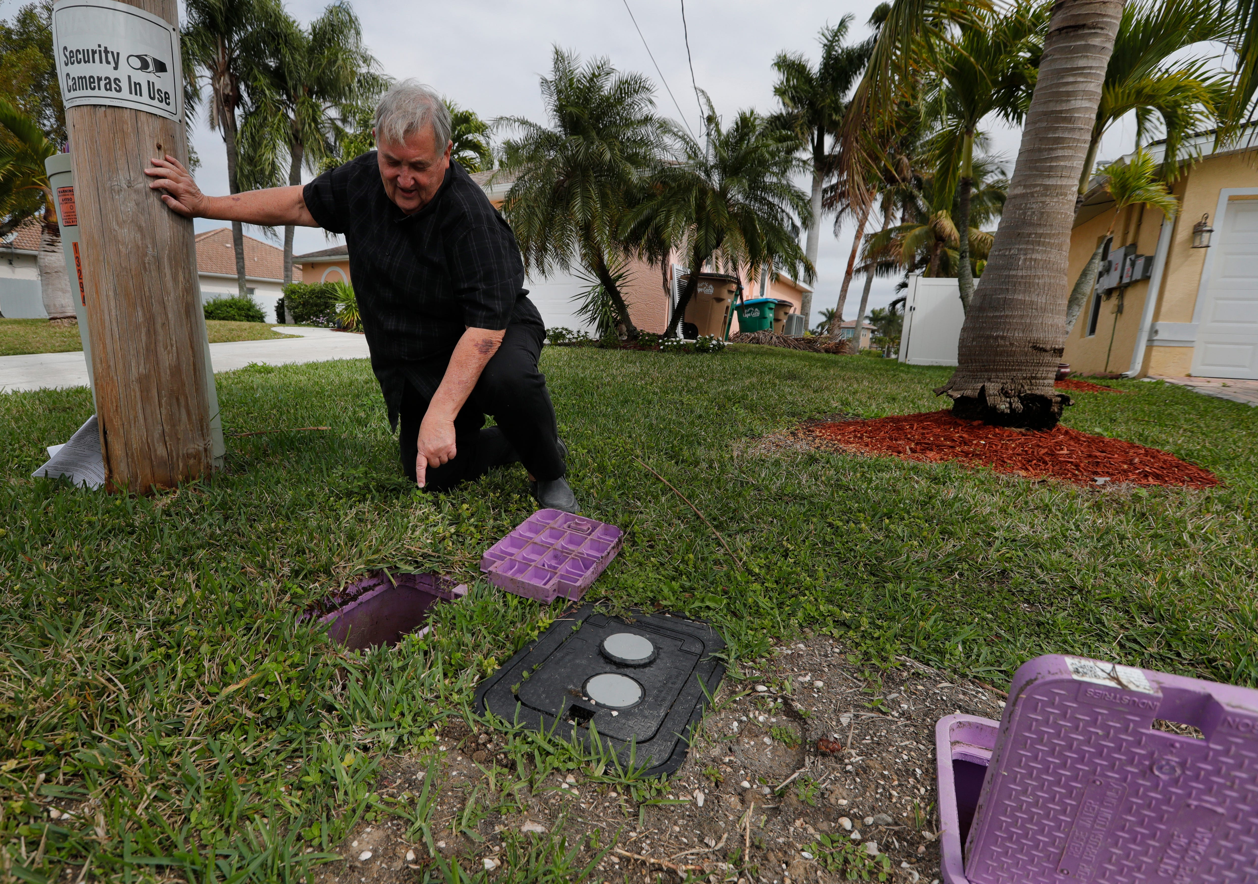 'I'm still not clear about what we're supposed to do.' Cape Coral man upset after $250 bill over reclaimed water hookup 3