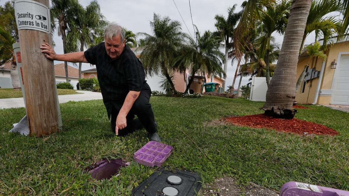 'I'm still not clear about what we're supposed to do.' Cape Coral man upset after $250 bill over reclaimed water hookup 2