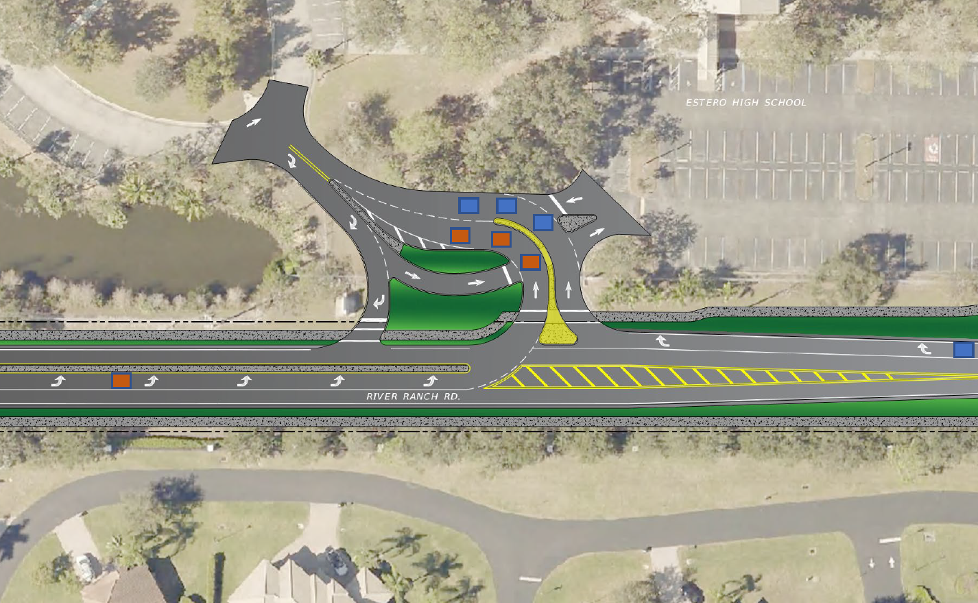 Roundabout in the works for Estero High School and Williams Road