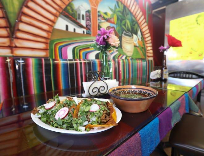 Tacos de Birria at El Cuñao in Nyack on Wednesday, February 17, 2021.