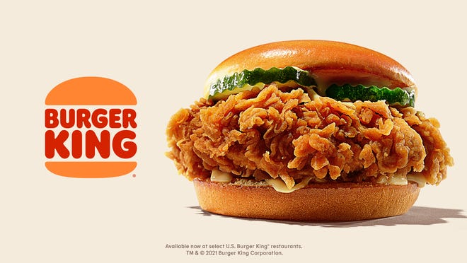 Burger King will introduce a new chicken sandwich.