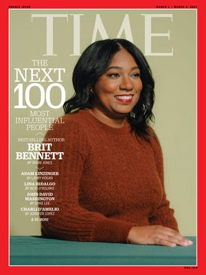 """Brit Bennett, best-selling author of the 2020 novel """"The Vanishing Half,"""" is among Time's list of the Next 100 most influential people."""