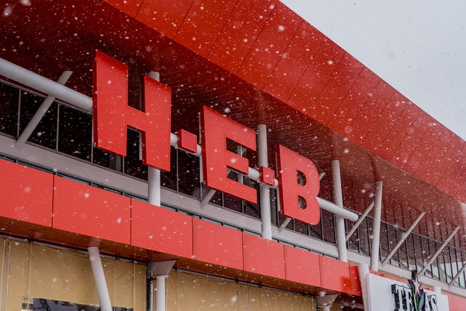 H-E-B stores across Texas have seen rushes of customers and limited hours this week as a winter storm brought widespread power outages.