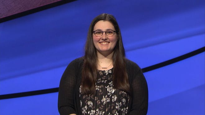 """Lauren Menke, a 2010 graduate of Cuyahoga Falls High School, was a contestant on a """"Jeopardy!"""" program that aired Feb. 19."""