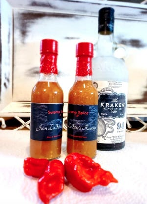 Swamp Spice features hot sauces, seasonings, salsas, jellies, and other hot foods.