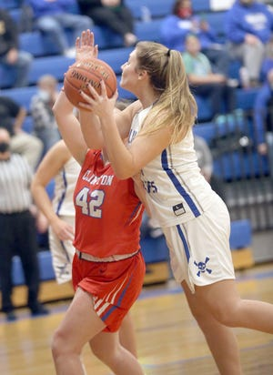 Boonville senior Kourtney Kendrick has been nominated along with four other mid-Missouri High School basketball players to the 2021 McDonald's All-American Games.