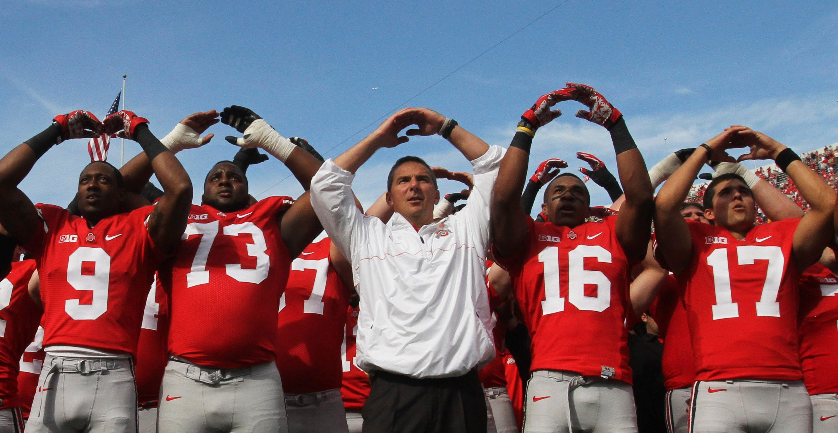 Despite the team's 12-0 record, Urban Meyer felt the 2012 Buckeyes had much work to do to compete with national college football powers.