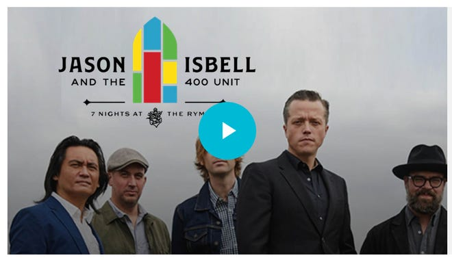 Jason Isbell and the 400 Unit on the Coda Collection website