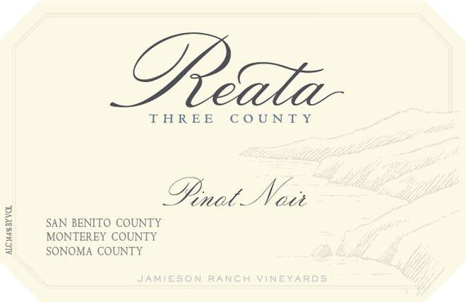 2018 Reata Three-County Pinot Noir by Jamieson Ranch Vineyards