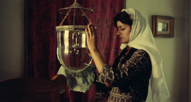 """Shohreh Aghdashloo in a scene form """"Chess of the Wind,"""" streaming starting Saturday as part of """"Cinema Revival."""""""