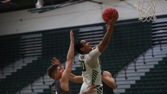 Freshman point guard Stephan Swenson is averaging 3.7 points per game and 3.5 assists per game for Stetson in the 2020-21 season.