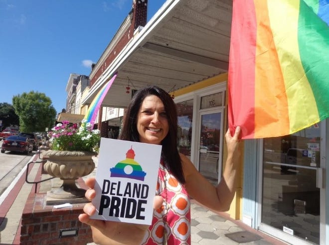 Dagny Robertson founded DeLand Pride in June 2016 following the deadly shooting at Pulse, a nightclub in Orlando.