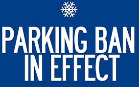 Dover is alerting the community about a parking ban.