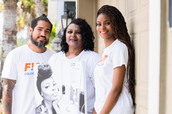 Jonathan Oritz, Gwendolyn Bryant and Tamara Shaw of Jacksonville will be featured in an upcoming national campaign to promote awareness for colorectal cancer.