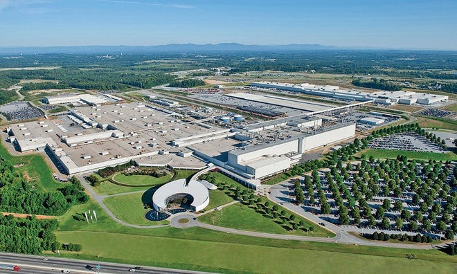 For the seventh straight year, Spartanburg County-based BMW Manufacturing led the nation in automotive exports by value, the German automaker announced.